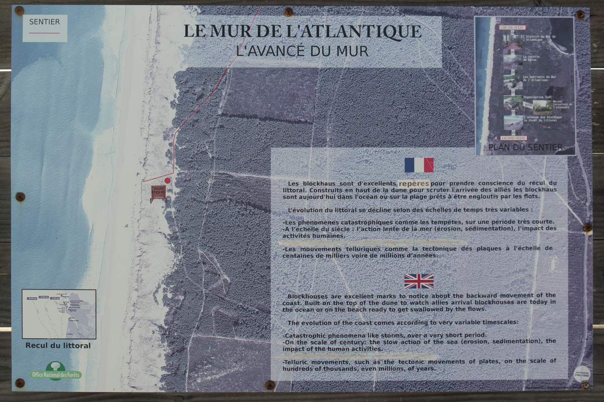 Description of the Atlantic Wall