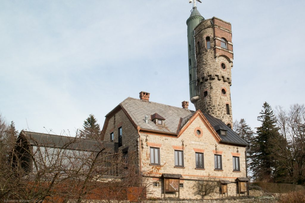 Picture of house and tower