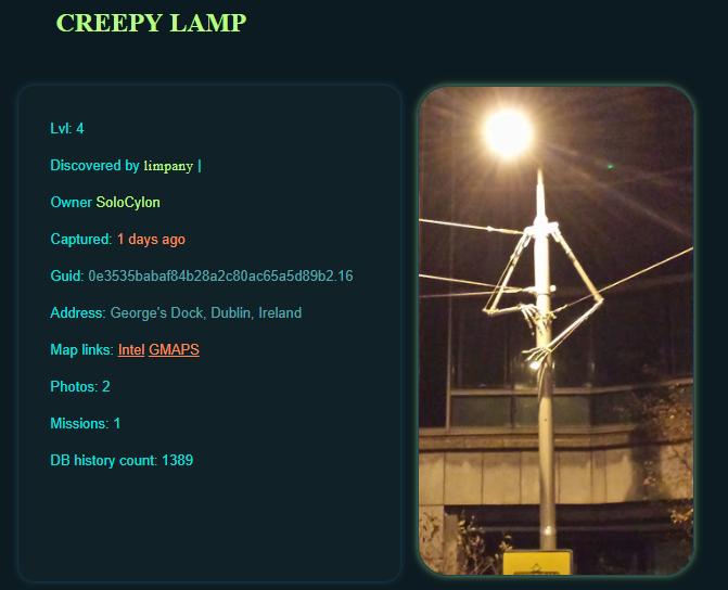 Creepy Lamp Dublin
