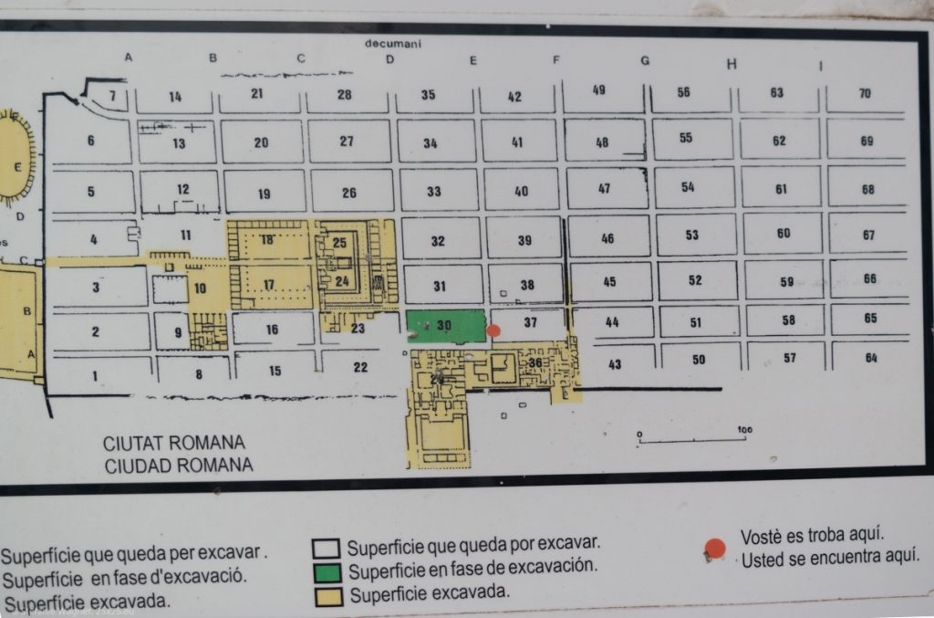 Map with squares