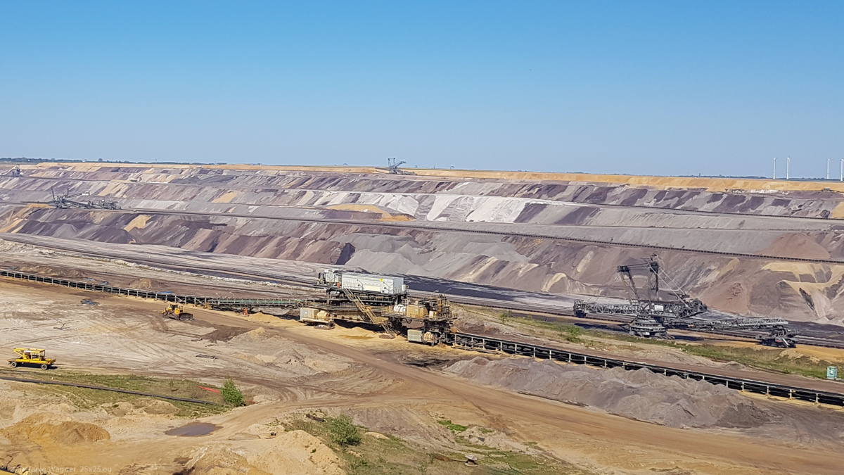 Brown coal surface mining – Garzweiler 2
