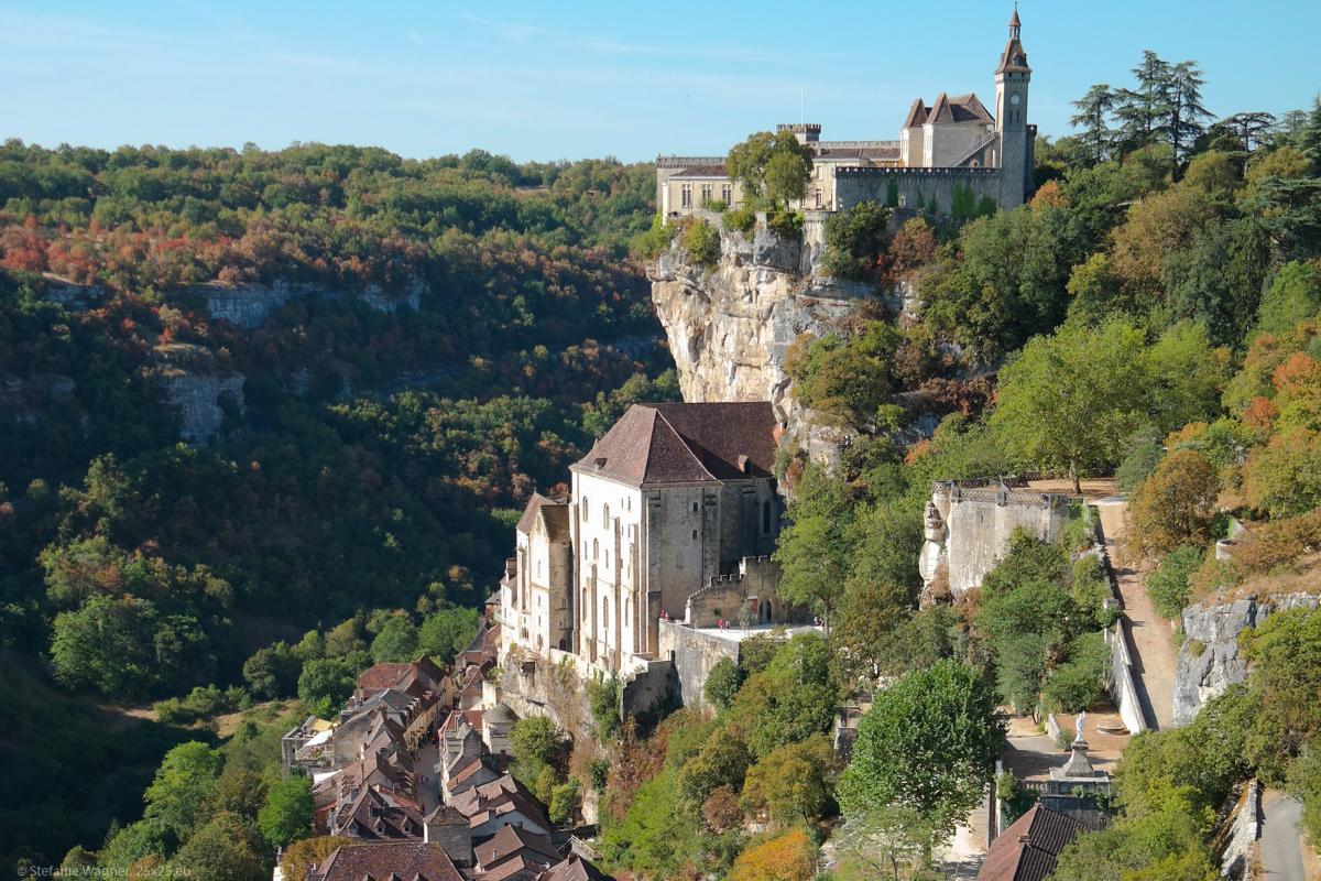 A vertical village – Rocamadour