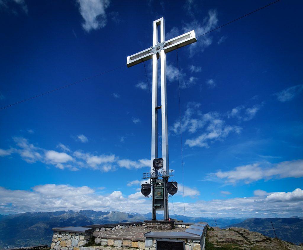 Metal summit cross
