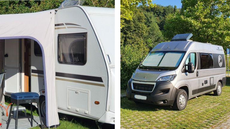 Caravan or Camper Van?