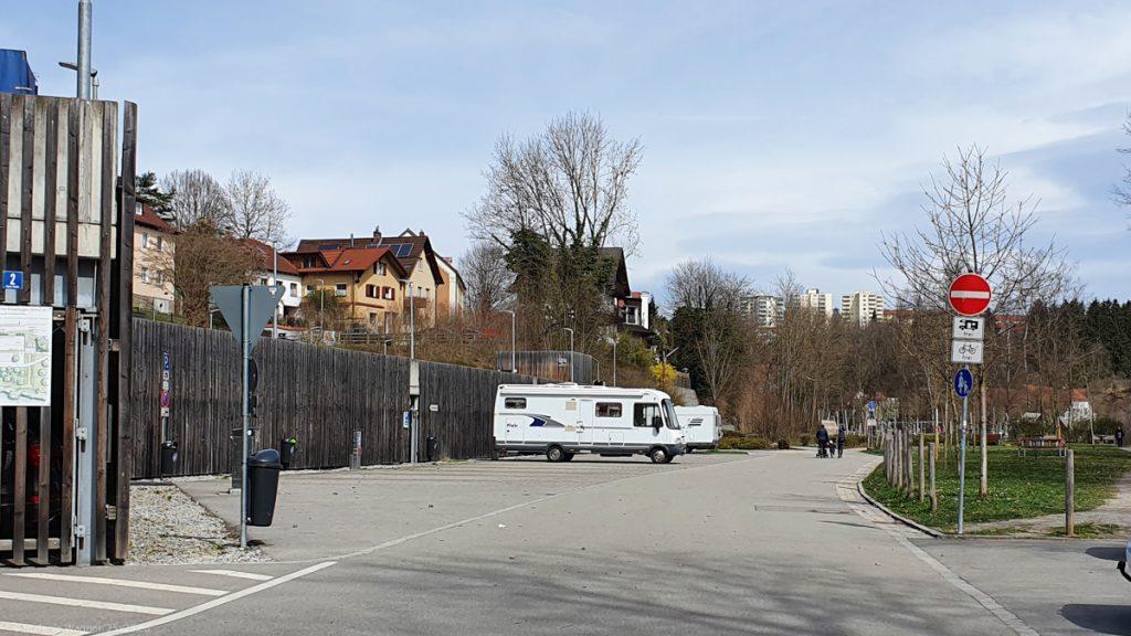 Camper site Ilzbruecke in Passau